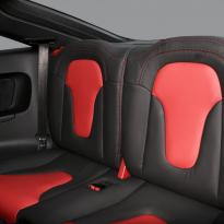 Audi tt coupe spt black leather with red inserts 005