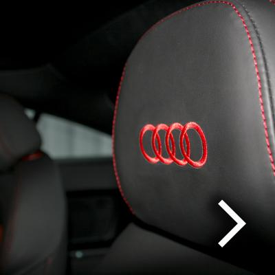 Audi tt coupe spt black leather with red inserts thumbnail