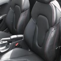 Audi tt roadster nl black leather red stitching 002