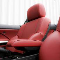 Bmw e46 cab m sport coral red leather 006