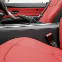 Bmw e85 z4 roadster red leather se 007