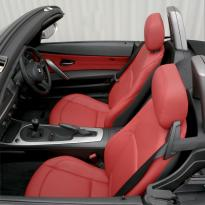 Bmw e85 z4 roadster red leather se 008