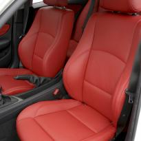 Bmw e87 sport nl dakota coral red leather 002