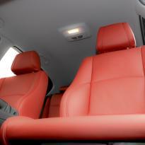 Bmw e87 sport nl dakota coral red leather 005
