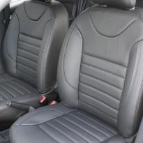Dacia logan laureate black leather 003