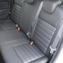 Dacia logan laureate black leather 008