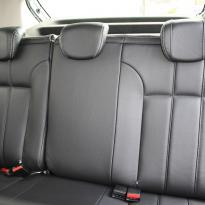 Dacia sandero stepway black leather with silver stitching 005