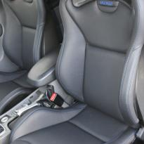 Ford focus rs black leather with blue stitching 002
