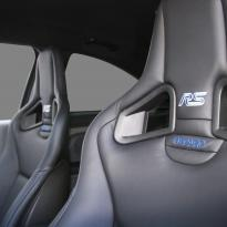 Ford focus rs black leather with blue stitching 003