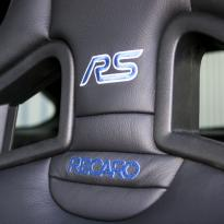 Ford focus rs black leather with blue stitching 004
