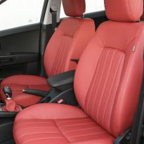Kia ceed coral red leather 008
