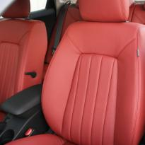 Kia ceed coral red leather 011