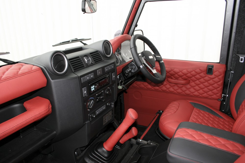 Land Rover Defender Interior Trim >> Land Rover Defender Leather Seats Automotive Leather Specialists