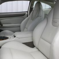 Jaguar xjr coupe ivory nappa leather with beige stitching 004