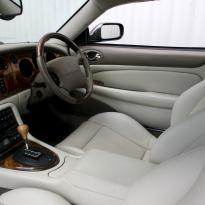 Jaguar xjr coupe ivory nappa leather with beige stitching 005