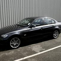 Bmw e90 saloon se ml red leather001