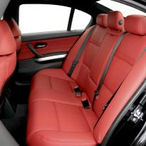 Bmw e90 saloon m sport dakota koral red leather 005 copy