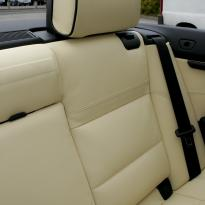 Bmw e93 cab sport champayne nappa with black piping 004