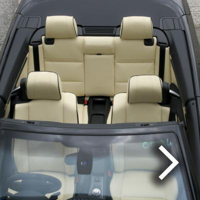 Bmw e93 cab sport champayne nappa with black piping 005 thumbnail-2