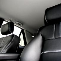 Merc 164 ml sport black with white stitching 005