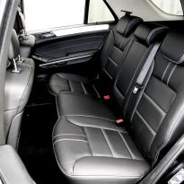 Merc 164 ml sport black with white stitching 007