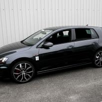 Vw golf mk7 5 door gti black 001
