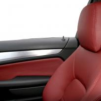 Merc 204 c-class coupe sport flamenco red 008