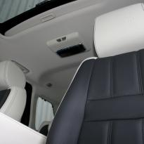 Rangerover sport autobiography ivory nappa with black nappa inserts  stitching 005