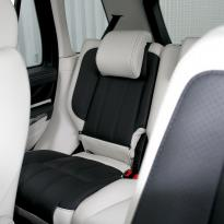 Rangerover sport autobiography ivory nappa with black nappa inserts  stitching 012