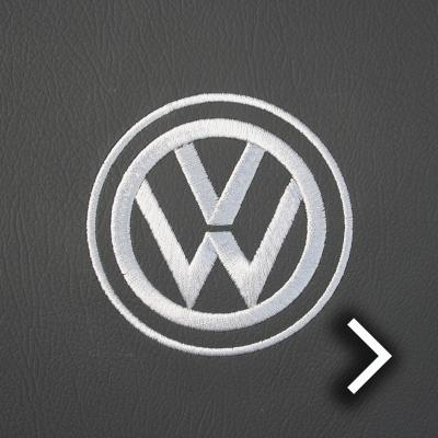 Volkswagen california campervan grey leather with perforated inserts thumbnail