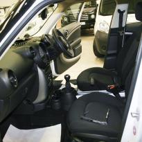 Mini clubman cloth seats