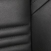 Subaru wr sti black leather seat 2