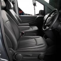 Mercedes Vito black leather 1