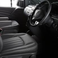 Mercedes Vito black leather 3