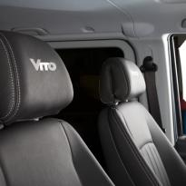 Mercedes Vito black leather 4