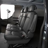 Mercedes Vito black leather 6