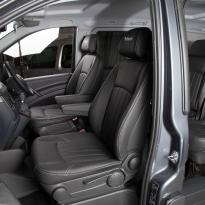 Mercedes Vito black leather 7