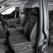 Mercedes Vito black leather 8
