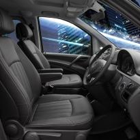 Mercedes Vito black leather 9