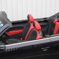Beetle cabriolet design black with red outer boarders(2)