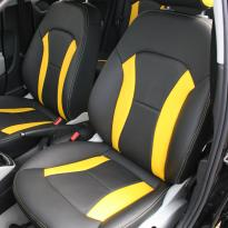 Audi a1 sptback se black with yellow inserts(2)