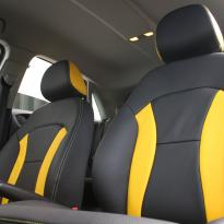 Audi a1 sptback se black with yellow inserts(4)