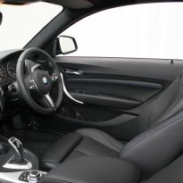 Bmw f22 coupe m sport dakota black with blue stitching(5)