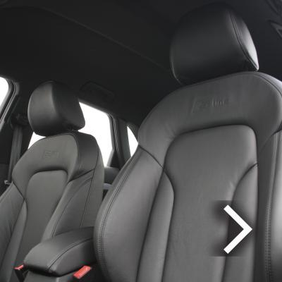 Audi q3 s-line black leather-2