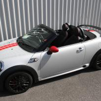 Mini r59 roadster spt lounge black with red piping(1)