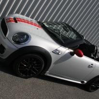 Mini r59 roadster spt lounge black with red piping(2)