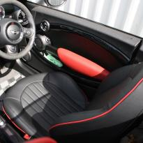 Mini r59 roadster spt lounge black with red piping(6)