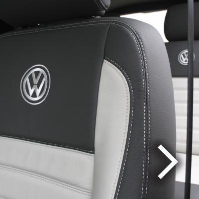 Vw t5 kombi van (5 seat) ash grey with portland grey inserts and inner wingsjpg
