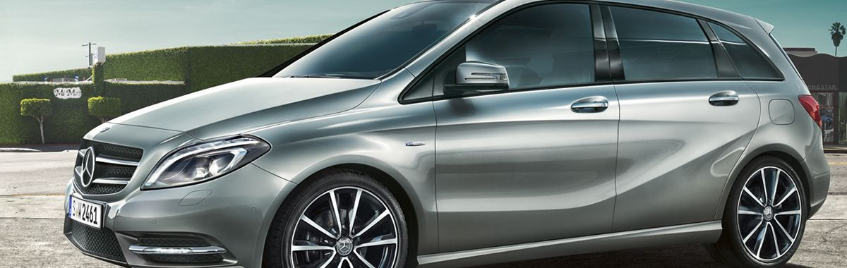 Mercedes b-class leather trim technik