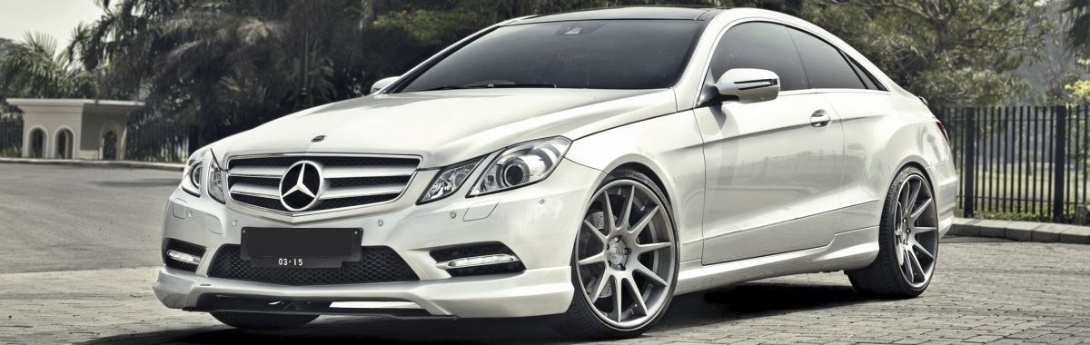 Mercedes e-class leather trim technik